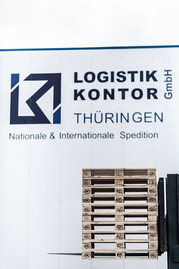 Lkw Transport mit Logistik Kontor